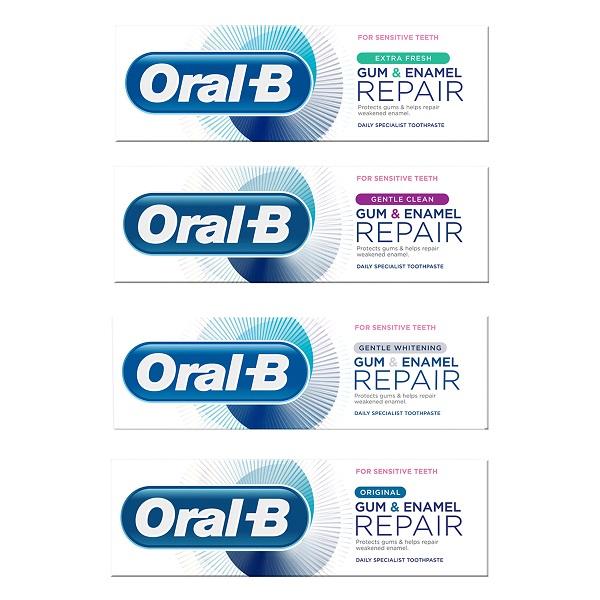 משחת השיניים החדשה של אוראל בי