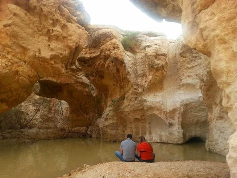 מסלול טיול: בריכת שחייה בלב המדבר