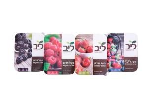 סדרת פירות יער אורגניים מוקפאים ליב