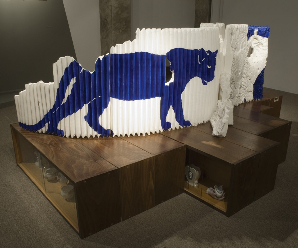 פנתר כחול - תערוכה של הדס רוזנברג