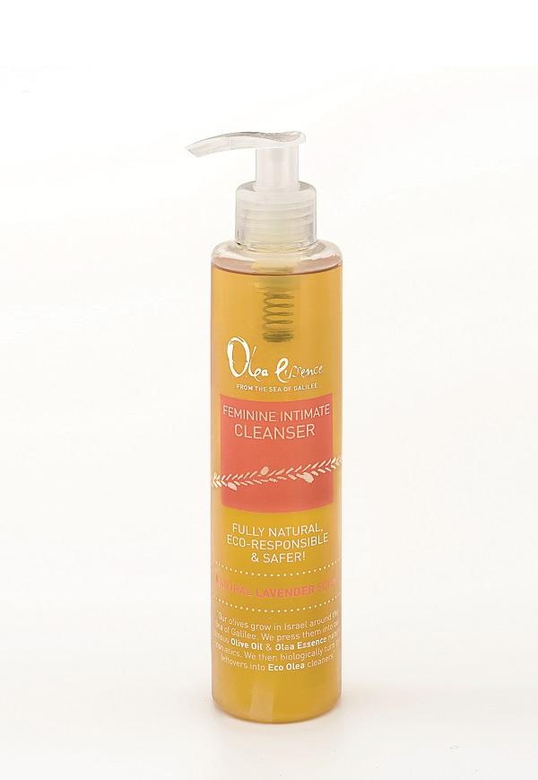 תרחיץ טבעי לשטיפה אינטימית המבוסס על עלי הזית של Olea Essence