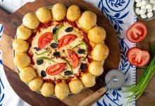 פיצה עם שוליים ממולאים