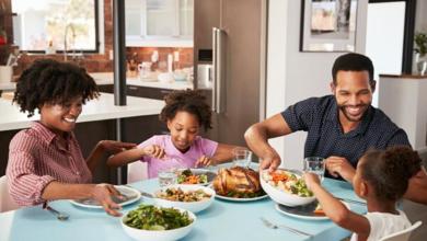 חשיבות ארוחה משפחתית