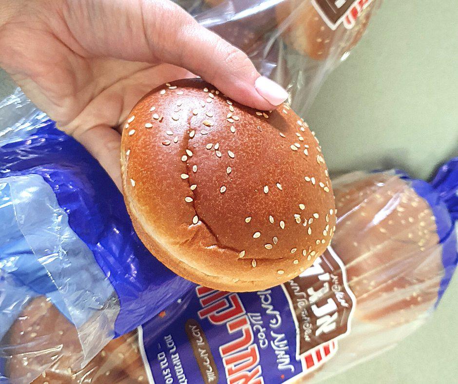 לחמניות להמבורגר בסגנון אמריקה