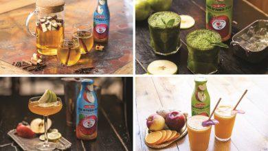 Photo of 4 משקאות קיץ מרעננים עם תפוחים