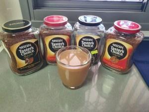 טייסטרס צ'ויס של נס קפה