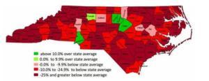 Economic inequality in NC