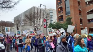 Naomi shares what she saw on Saturday at the Raleigh Women's March.