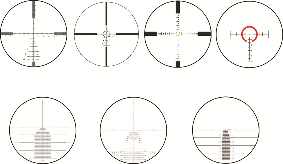 different types of scope reticles image gallery leupold