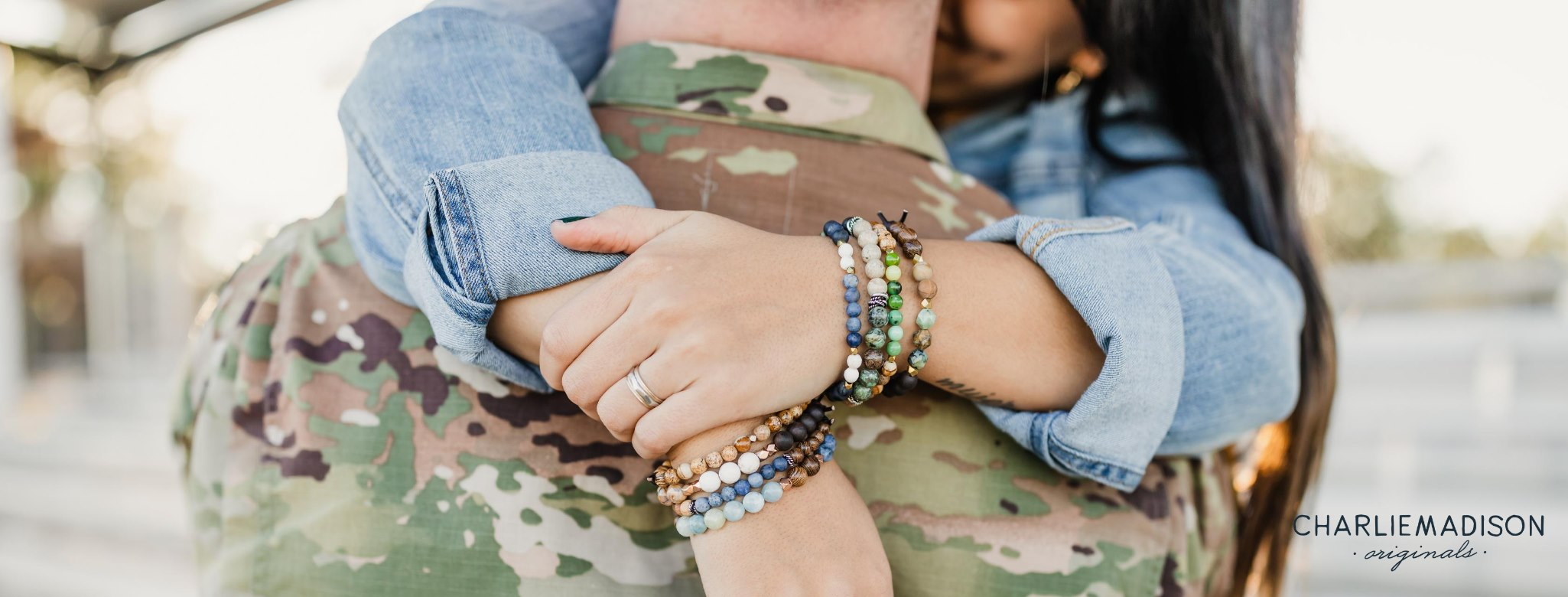 CharlieMadison (Jewelry company that gives back to military charities)