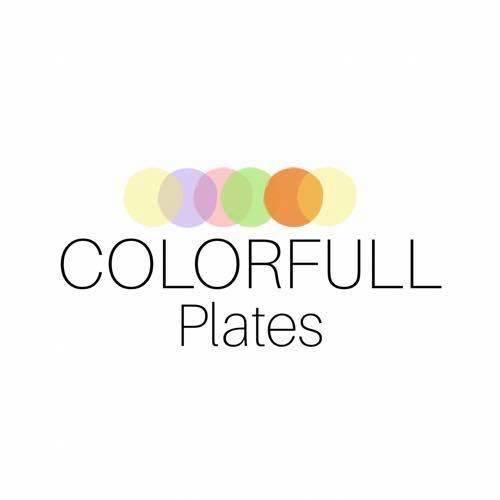 Colorfull Plates (Kids' tableware)
