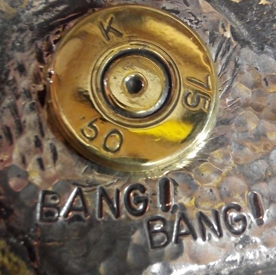 Bang Bang Balistic (Jewelry from bullets)