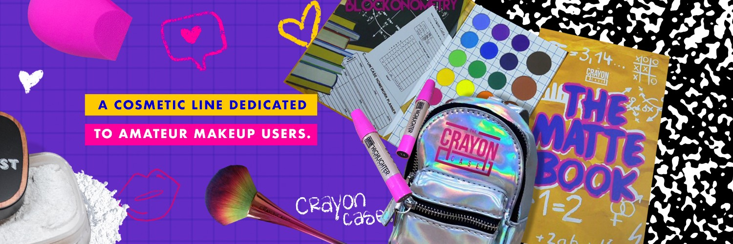 The Crayon Case (Cosmetic Line)