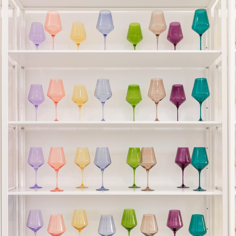 Estelle Colored Glass – Hand Blown Glass SC