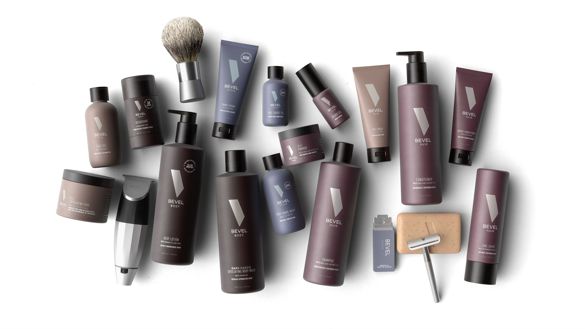 Bevel – Shaving and Grooming products