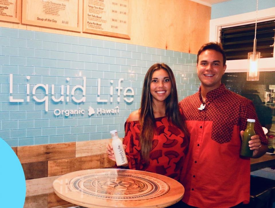 Liquid Life – Health Cafe in Hawaii