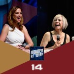 Chase Masterson and Nana Visitor