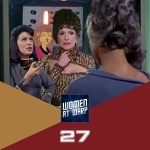 Majel as Number One, Lwaxana and Chapel