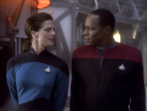 "Dax and Sisko in ""Emissary"""