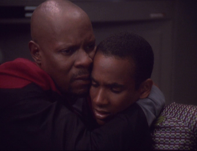 Sisko and Jake