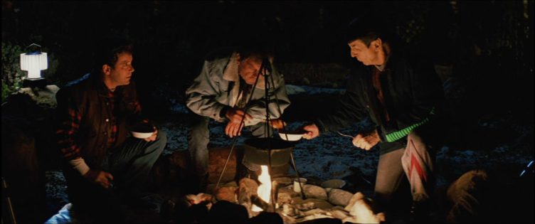 Kirk, McCoy and Spock in Yosemite National Park