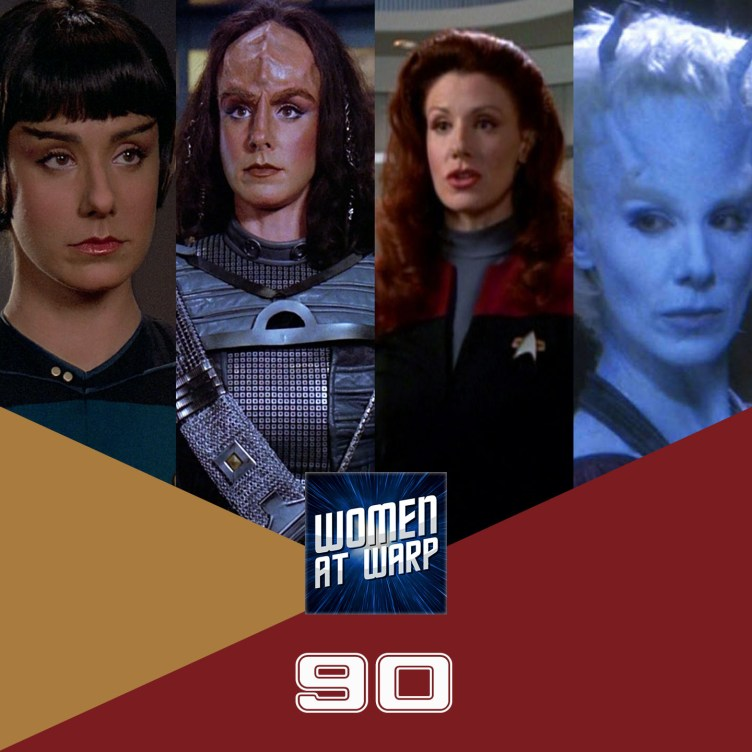 Suzie Plakson as Dr. Selar, K'Ehleyr, Q and Tara