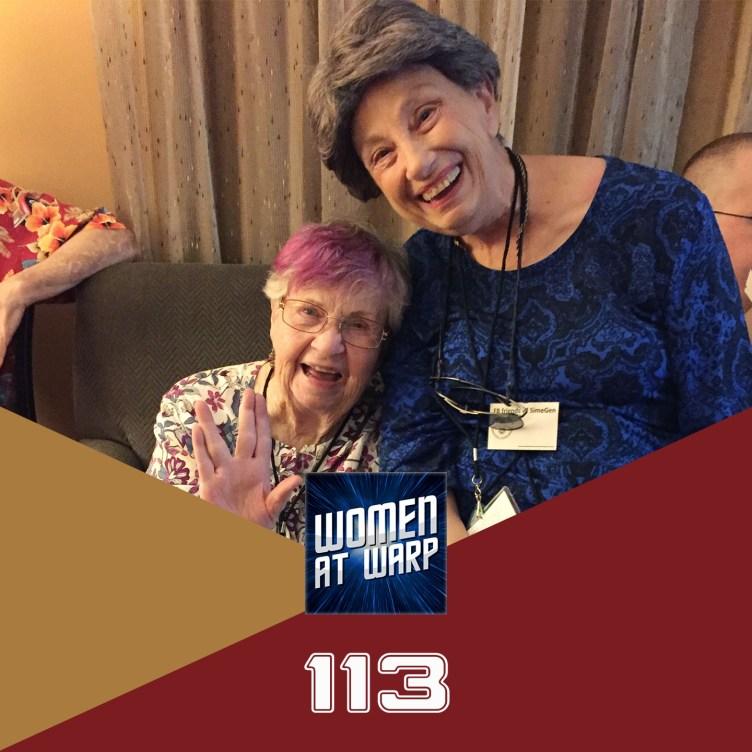 Episode 113: Women in Trek Fandom: Jacqueline Lichtenberg