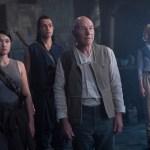 Soji, Elnor, Picard and Jurati on the Borg cube