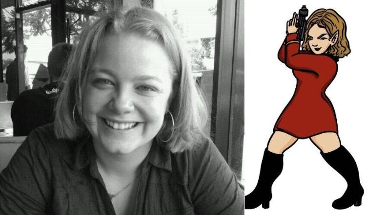 Andi photo next to Trek avatar
