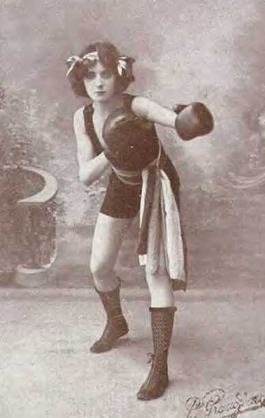 Women Boxing Then and Now