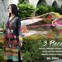 So Kamal Fall Collection 3 Piece Dresses 2018-19