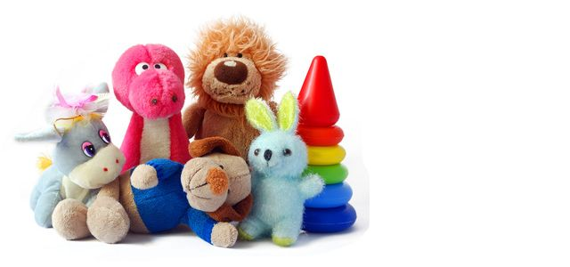types of baby toys