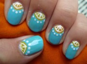 easy summer nail art design