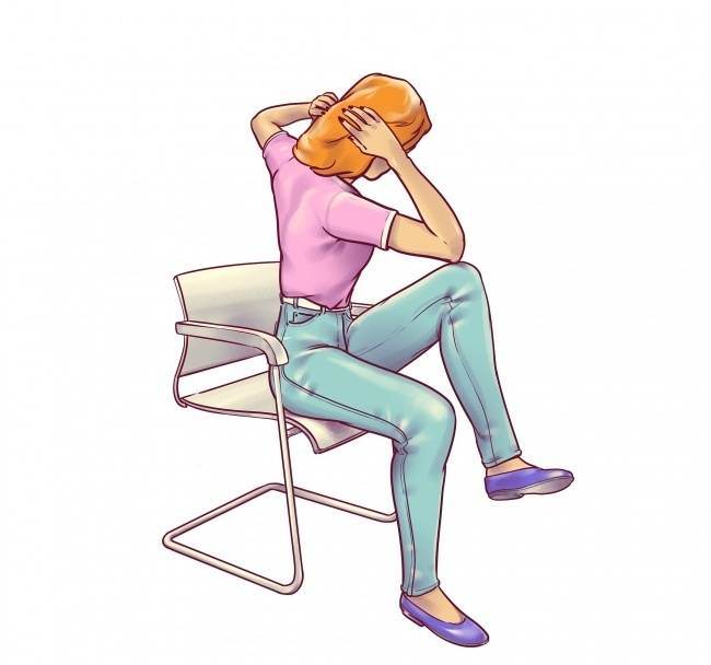 5 exercises you can do in a chair that will give you a flat belly 5 - 5 Flat Belly Exercises That You Can Do In a Chair
