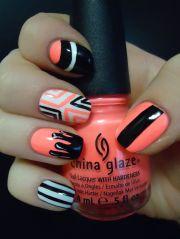 coral nail design draw inspiration