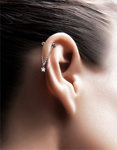 Piercing Of The Upper Ear Risks Involved