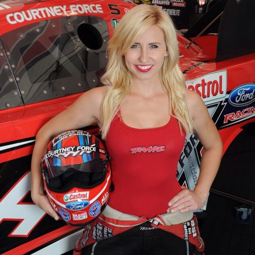 Playing In The Fall Wallpaper Courtney Force Funny Car Drag Racer Three Time National