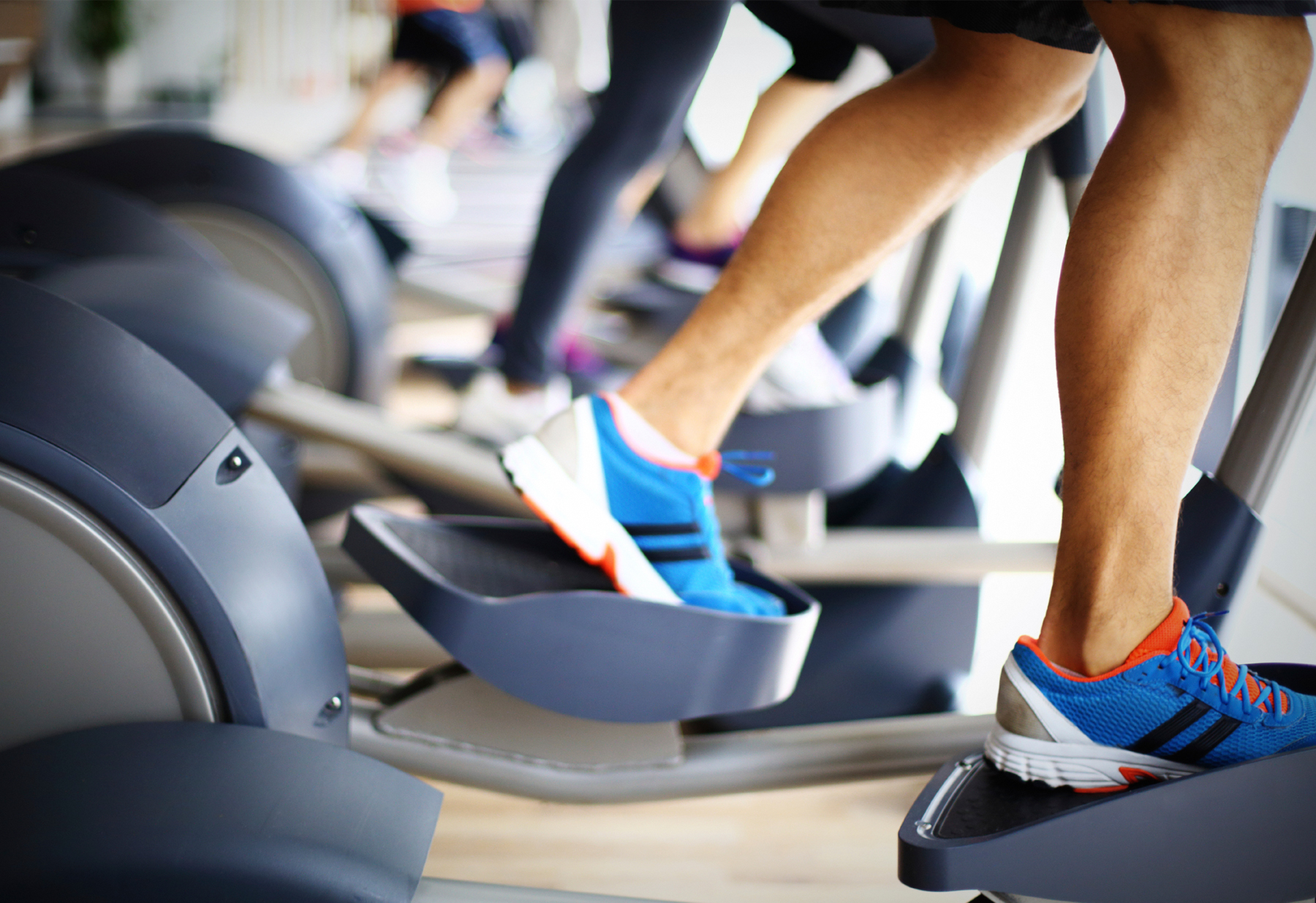 elliptical trainer for an