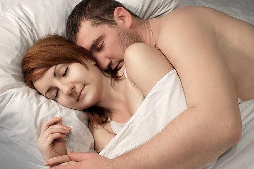 Photo sex sleeping