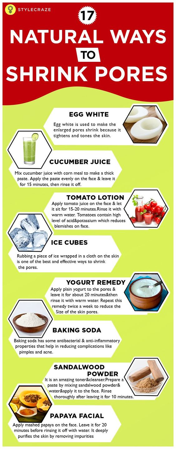 Natural Remedies For Wrinkles And Pores