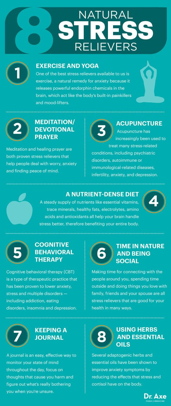 natural stress relievers