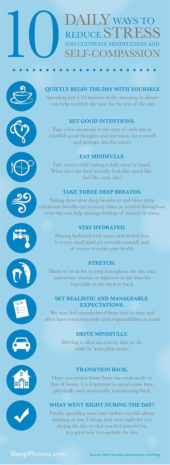 daily ways to reduce stress