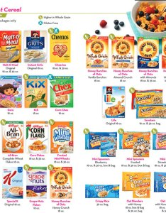 Texas wic food list breakfast cereal also rh womeninfantschildrenoffice