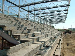 Terracing nearly finished