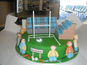 Cake depicting Stand Gang