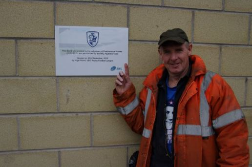 Alan after the official opening