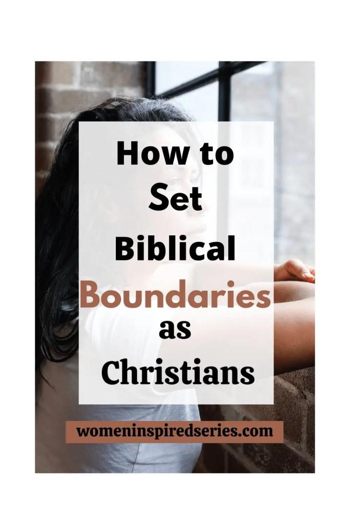 Christian boundaries