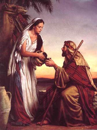 Rebekah at the Well, painting by Michael Deas 1995