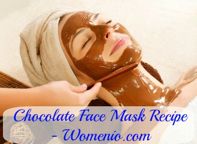 Chocolate face mask recipe