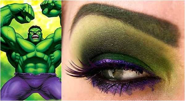 yeshadow inspired by Hulk from Avengers